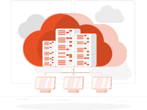 Lumisol Cloud storage clip art